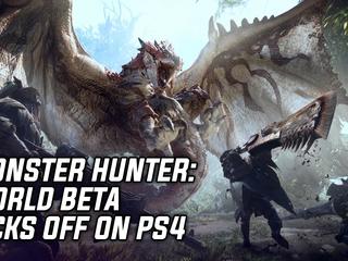 Monster Hunter: World Beta Kicks Off On PlayStation 4