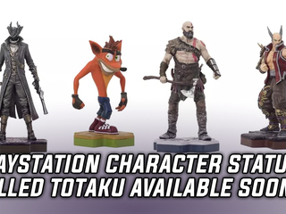 New PlayStation collectible statues called Totaku will be available March 2018
