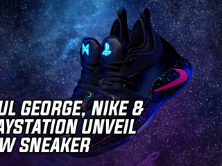 Paul George, Nike & PlayStation Unveil New Shoe: PG-2 PlayStation Colorway