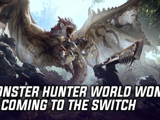 Monster Hunter World directors explain why the game won't be coming to the Nintendo Switch