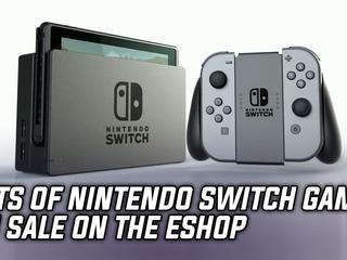 Lots of digital Nintendo Switch games on sale on the Nintendo eShop