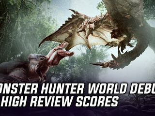 Monster Hunter World debuts to high scores across multiple websites