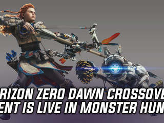 Horizon Zero Dawn collaboration event quest is now live in Monster Hunter World