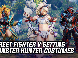 Street Fighter V will be getting Monster Hunter costumes