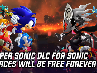 SEGA makes Super Sonic DLC for Sonic Forces free permanently
