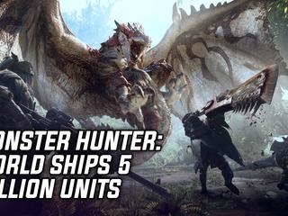 Monster Hunter: World Ships 5 Million Units In 3 Days