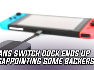 The Sfans Switch Dock ends up disappointing some backers