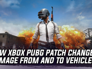 Latest patch for PUBG on Xbox One will significantly change damage to and from vehicles