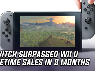 Switch has already outsold the Wii U lifespan in just over 9 months