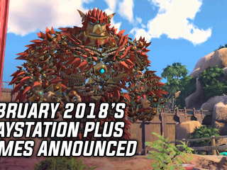 PlayStation Plus Games Announced For February 2018