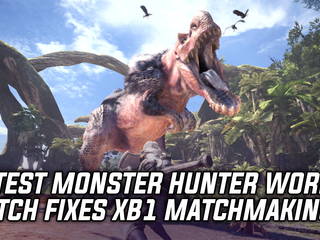 Monster Hunter World Patch 1.03 fixes matchmaking on Xbox One