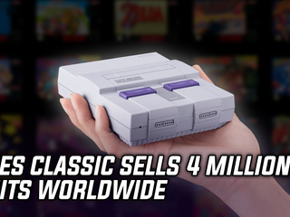 The SNES Classic has sold over 4 million units worldwide