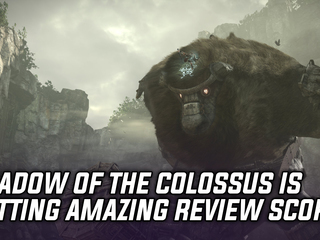 Shadow of the Colossus getting amazing review scores