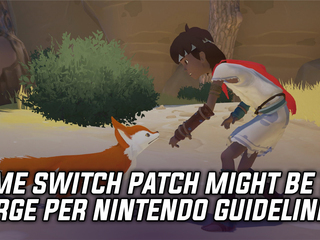 Rime performance patch for Switch might be too large per Nintendo's guidelines