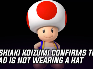 Super Mario Odyssey Producer confirms that Toad is not wearing a hat
