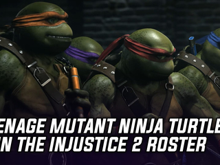 Teenage Mutant Ninja Turtles join the Injustice 2 roster