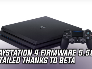 Details on PS4 firmware 5.50 emerge thanks to beta