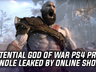 Potential God of War PS4 Pro bundle leaked by European retailer