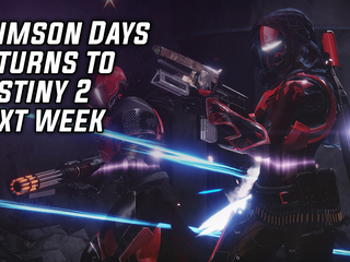 'Crimson Days' Returns To Destiny 2 Next Week With new Rewards