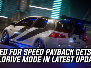 Need for Speed Payback gets Alldrive mode in latest update