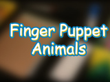 Bring the zoo to you with these adorable Finger Puppet Animals! You will need: scissors, construction paper, colored pencils or markers, a glue stick and googly eyes.