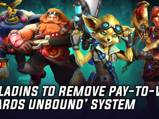 Developer Hi-Rez will be removing the pay-to-win 'Cards Unbound' system from Paladins