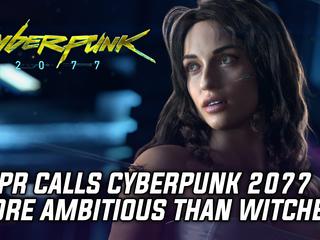 CDPR calls Cyberpunk 2077