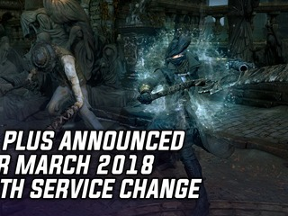 PS Plus Games For March 2018 Announced With Service Changes