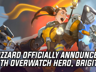 Blizzard officially unveils 27th Overwatch hero, Brigitte