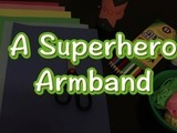 Become your very own superhero with this how-to on making your own powerful armband! You will need: construction paper, colored pencils, scissors, glue stick, and yarn.