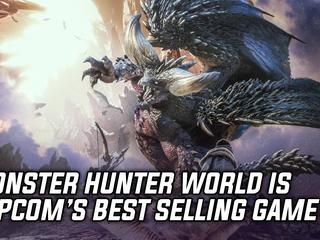 Monster Hunter World is Capcom's best selling game in history
