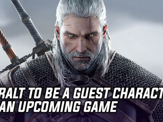 CDPR tease Geralt to appear
