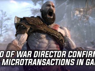 God of War director confirms that the game will not have mictrotransactions