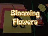 Learn how to make Blooming Flowers just in time for Spring! You will need: construction paper, a pipe cleaner, scissors, and two brads