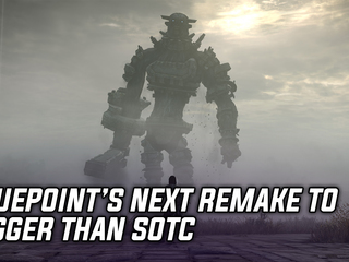Bluepoint's next game is a remake, and apparently bigger than Shadow of the Colossus