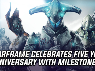 Digital Extremes shares impressive stats and growth for Warframe's 5th anniversary