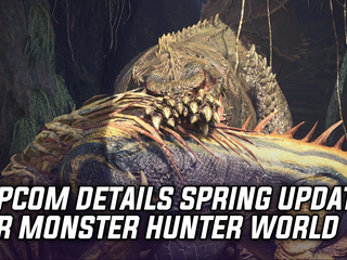 Capcom details Monster Hunter World Spring Content Update, featuring Deviljho