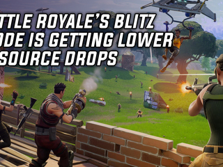 Fortnite's limited-time Blitz Mode is getting resource drop changes