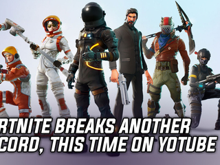 Fortnite breaks yet another record, this time on YouTube
