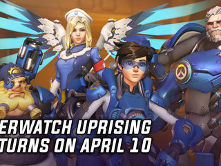 Overwatch Uprising Co-Op Brawl Returns April 10th
