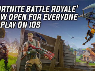 'Fortnite Battle Royale' Now Open For Everyone To Play On iOS