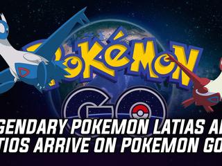 Legendary Pokemon Latias and Latios available in Pokemon GO