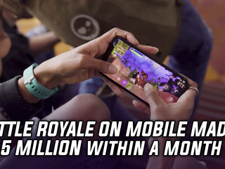 Fortnite Battle Royale has made over $15 million on its mobile port under a month