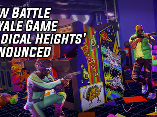 New Battle Royale Game 'Radical Heights' Announced