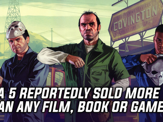GTA 5 made more money than any other movie, game or book