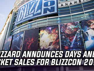 Blizzard announces date and ticket sales for Blizzcon 2018