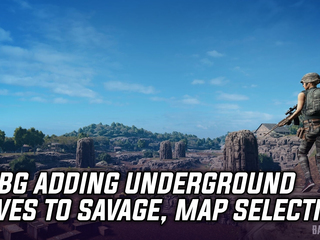 PUBG's Savage map to get underground cavern system and map selection feature