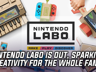 Nintendo Labo is officially out, allows the whole family to create amazing projects