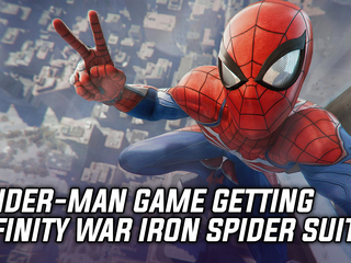 Insomniac reveals Infinity War inspired Iron Spider costume for Spider-Man game