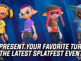 Pick your favorite Ninja Turtle in the latest Splatfest for Splatoon 2